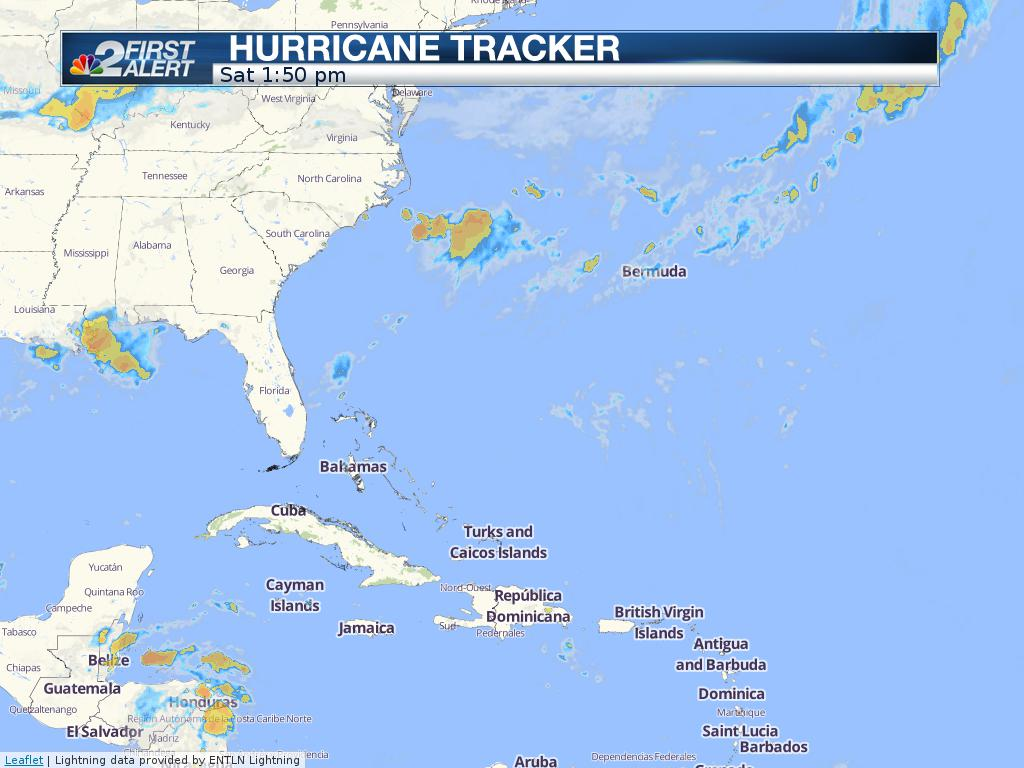 NBC2 Tropical Tracker